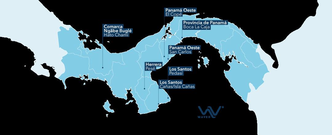 Nuestra Presencia en Panamá - Waved